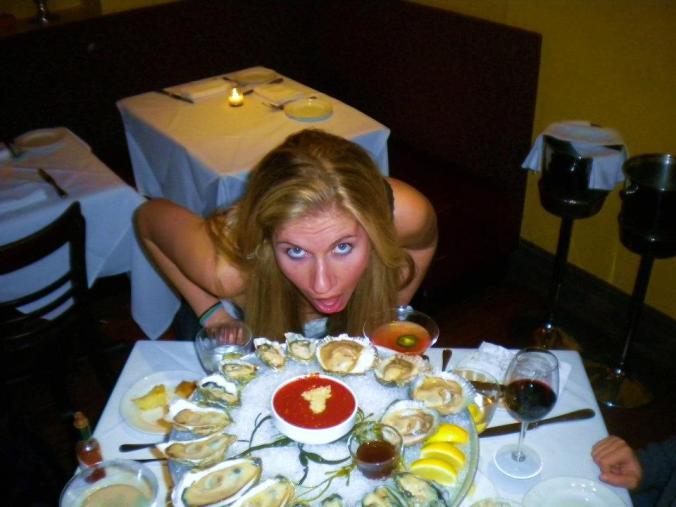 I'm selfish for shellfish