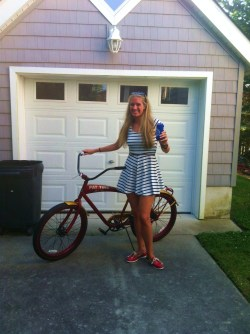 Beer and Bikes: Does it get more American?