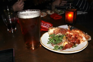 Pizza and Beer - My kind of joint