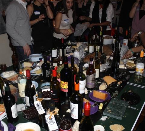 A massive cheese party for me? You shouldn't have. [Side note: they didn't, but it felt like it.]