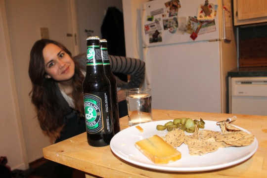 Food, Claire, and Beers
