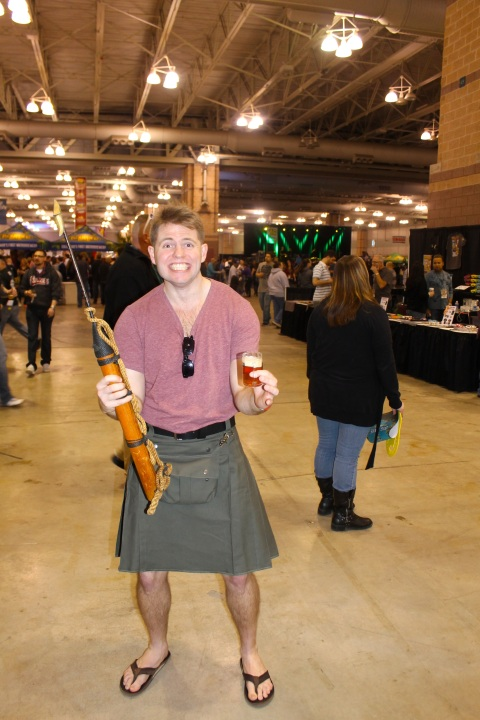 Real men wear kilts?
