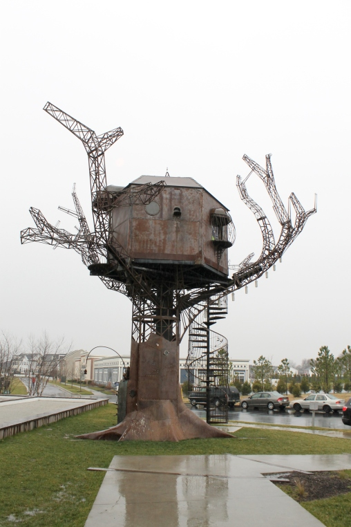 Steampunk Treehouse, anyone?