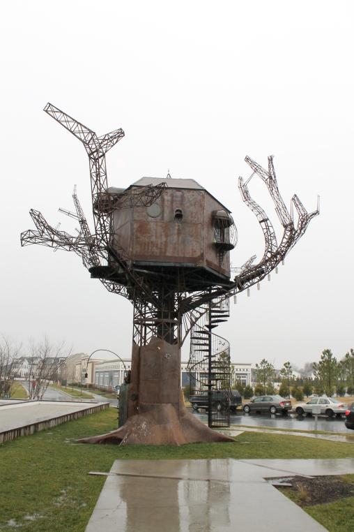 Steampunk Treehouse, anyone?