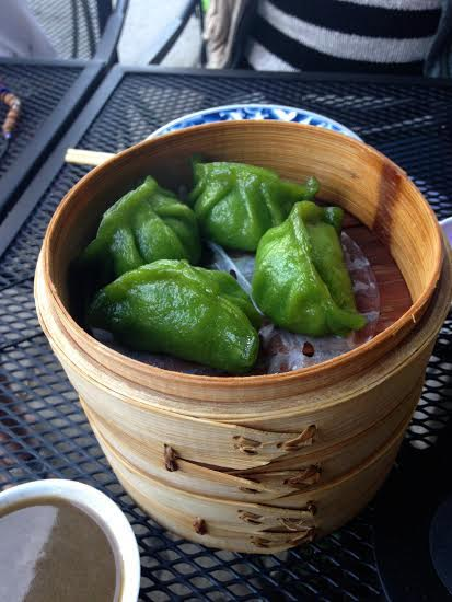 Jade dumplings full of shrimp and leeks