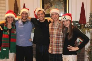 And Santa sibs