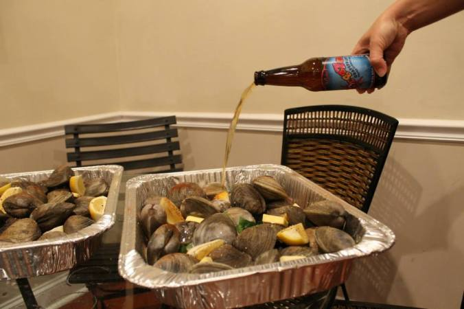 In honor of Arya - Oysters Clams and Cockles (but just clams)
