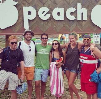 "Peach Music Festival (or ""maybe I'm too old for music festivals?"")"